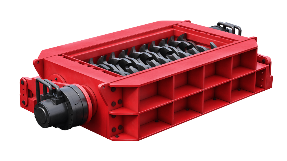 Image for Direct drive hydraulic motors for shredding applications